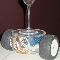 Balancing robot design (Source: Hanno Sander CC260)