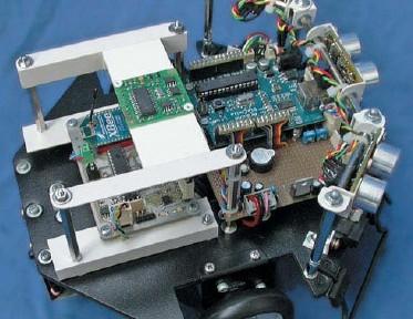 An Arduino-based robot platform (Source: G. Ottavini, CC236)