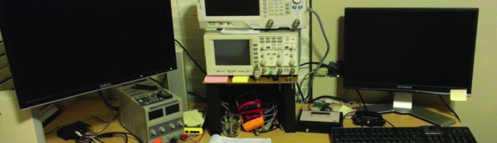 Michael Hamilton's test bench and DSA815
