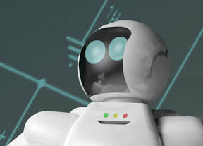 Honda's ASIMO humanoid robot