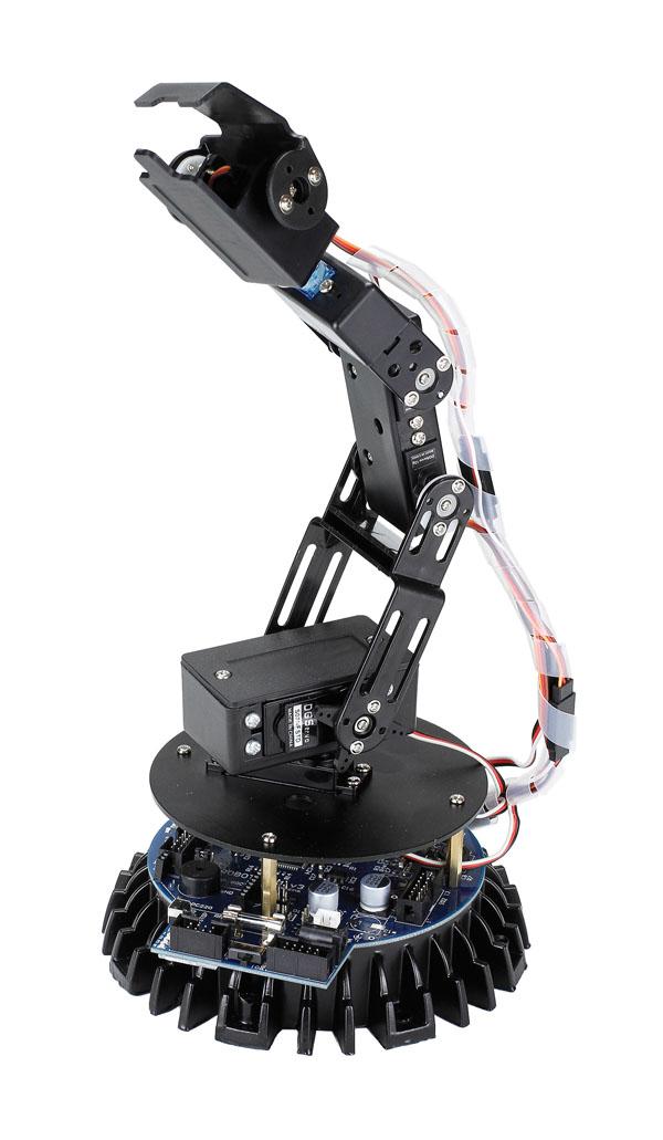 6DoF Robotic Arm   Circuit Cellar