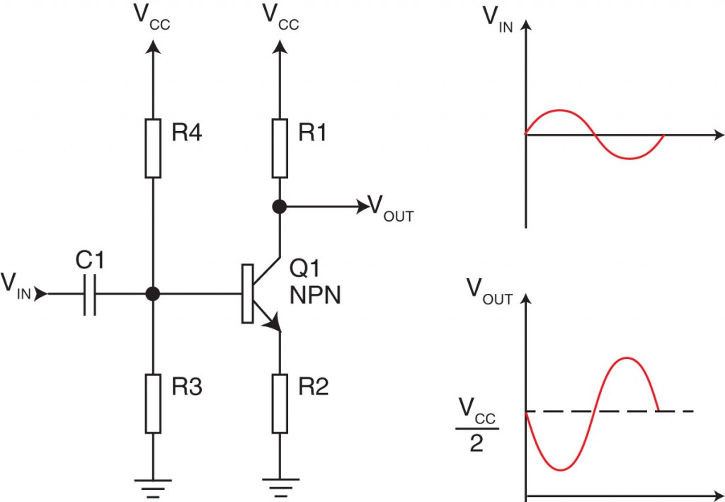 simple audio amplifier circuit diagram