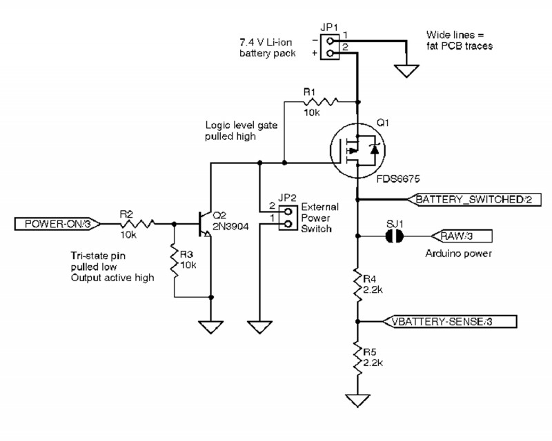 The actual circuit schematic includes the same parts as the SPICE schematic, plus the assortment of connectors and jumpers required to actually build the PCB shown in Photo 1.