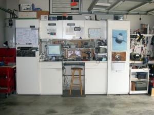 Jerry's garage-based lab.