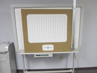 Cardboard and paper mockup of the BADASS Display