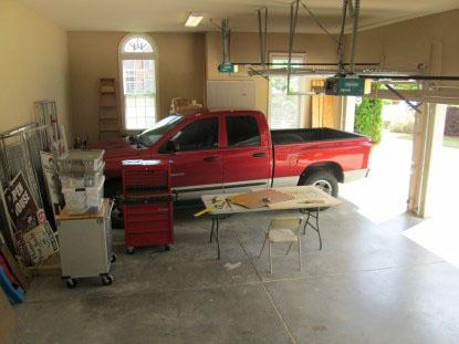Another little corner of Max's garage work area