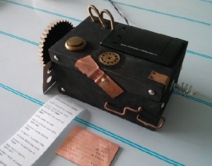 Dada poetry printer by Alessandro Giacomel