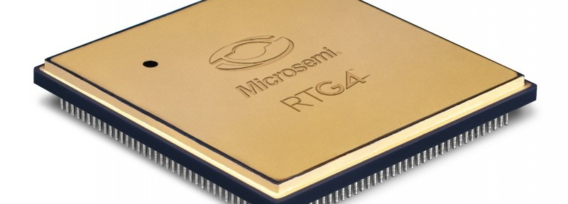 Microsemi RTG4-  3-4view