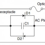 FIGURE 4: Ground isolator for three-prong powered appliances
