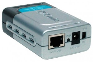 The D-Link DWL-P50 is a ready-togo module. Ethernet in, Ethernet out, and a choice between 12- and 5-VDC outputs.