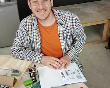 Saar Drimer, electronics craftman