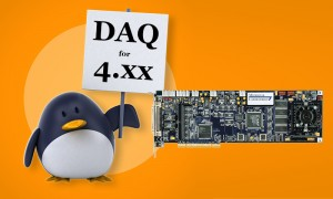 Photo caption: Real time acquisition on generic platforms: Accel32 for Linux v.3.0 supports GNU/Linux 4.xx kernels. Penguin: Julien Tromeur/Shutterstock.com