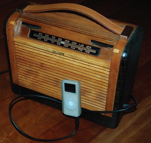 Simple Circuits: Turn a Tube Radio Into an MP3 Amp | Circuit