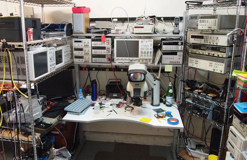 como aprender e trabalhar pofissionalmente laboratório de eletrônica