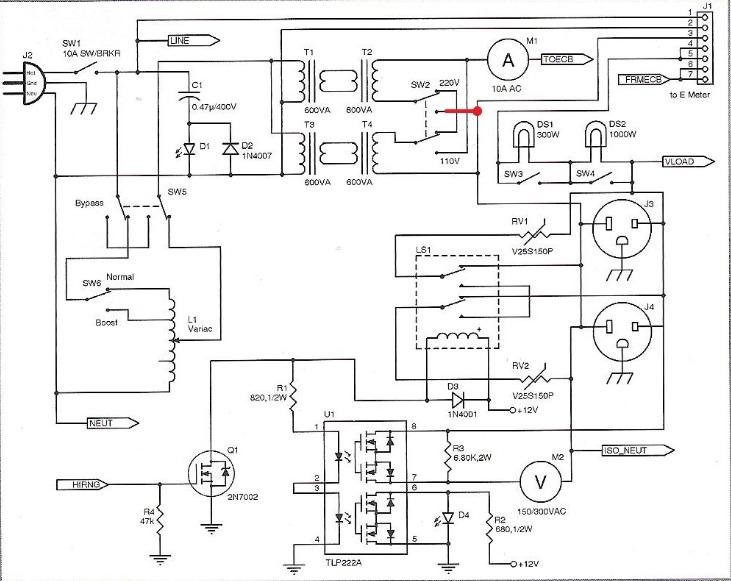 ac tester schematic update
