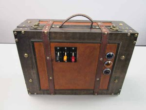 Electronic Steampunk Suitcase