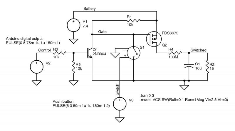 Arduino MOSFET-Based Power Switch | Circuit Cellar