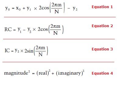 Equations 1 - 4
