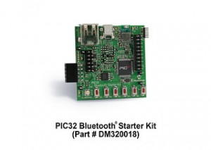 PIC32 Bluetooth Starter Kit (Source: Microchip Technology)