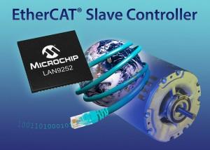 Microchip LAN9252 EtherCAT