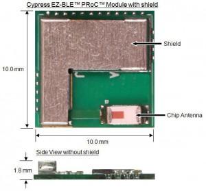 Cypress EZ-BLE PRoC Module