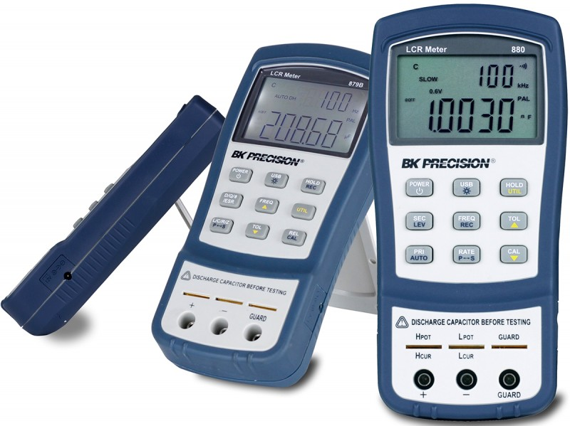 High-Performance 100-kHz Handheld LCR Meter | Circuit Cellar
