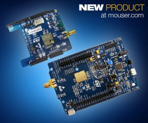 Mouser Stocks STM32 LoRaWAN Discovery Board | Circuit Cellar