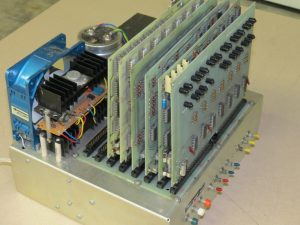 """Photo 1: Here is my 8008 computer built in 1974. It ran at a blazing clock rate of about 200 kHz and had 4 KB of static RAM, 4 KB of EPROM, serial and parallel I/O ports, and a tape cassette """"mass-storage"""" interface."""
