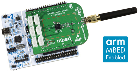 STM32 Nucleo LoRa kits are now certified and available to developers through ST sales channels.