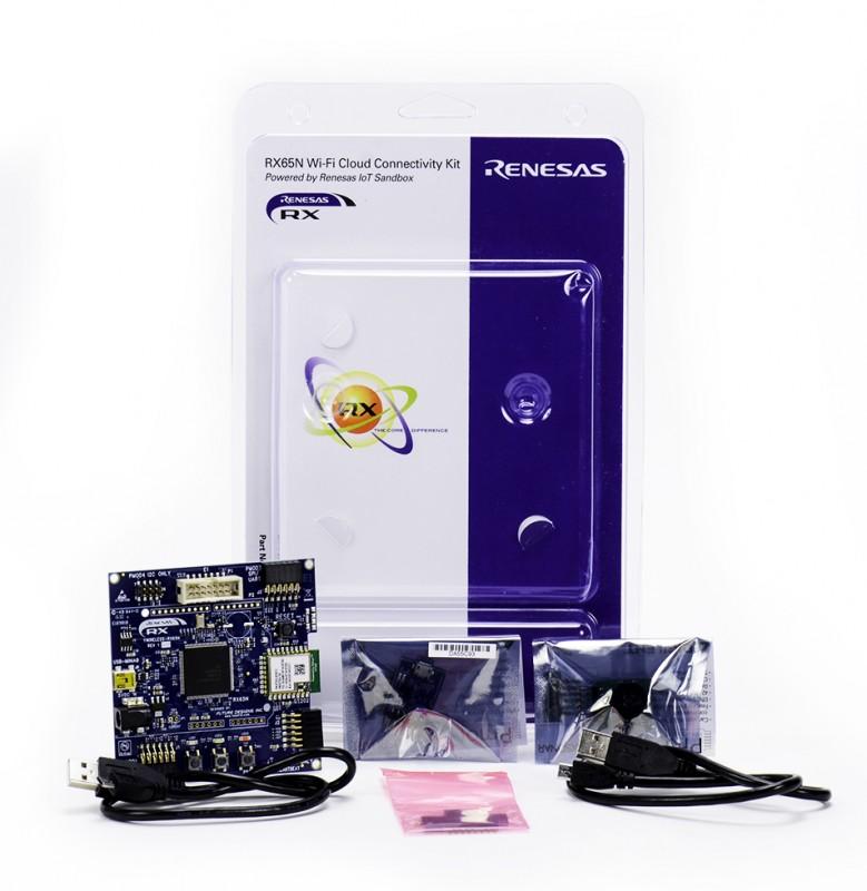 RX65N_IoT_Sandbox_Wifi_Kit_Unpacked