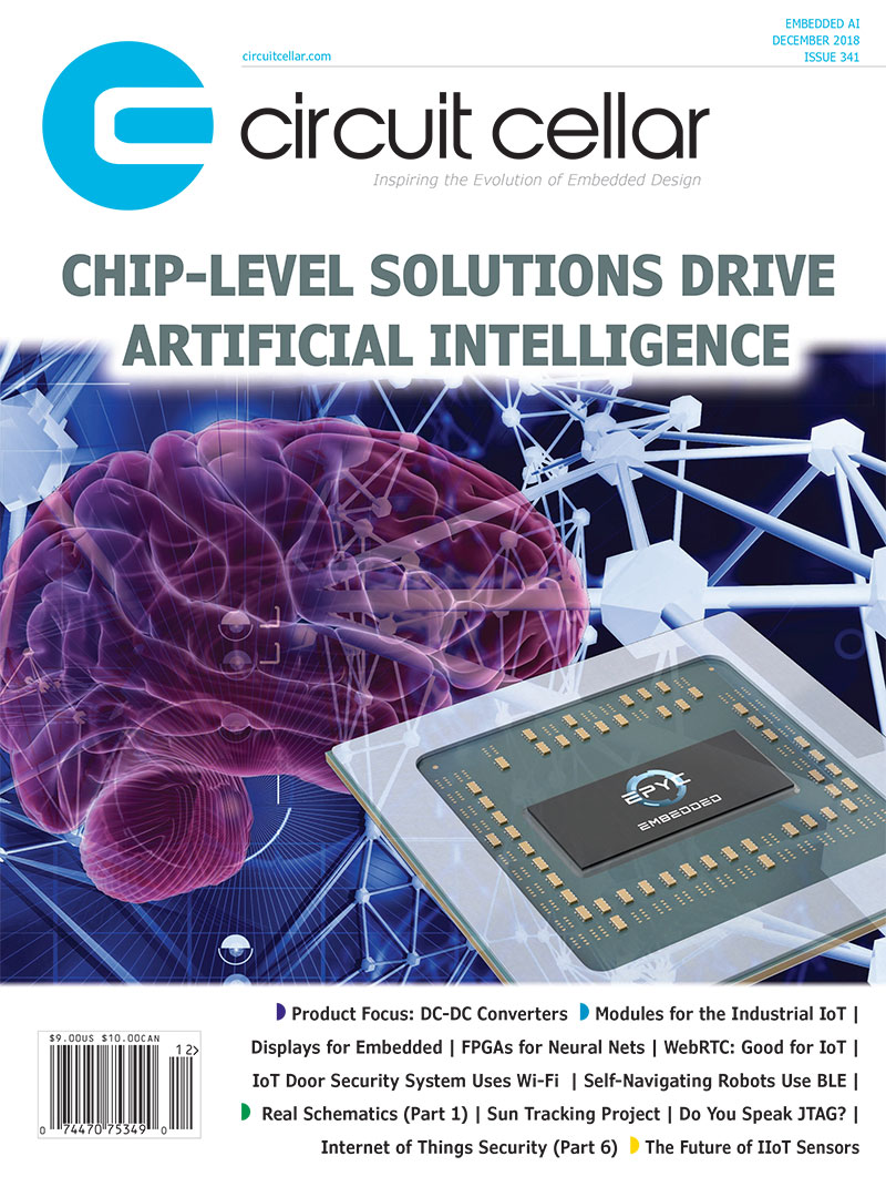 Circuit Cellar Microcontrollers Embedded Systems Electrical Printed Board Technology Inspired Flexible Circuits Current Issue December